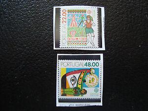 Portugal-Stamp-Yvert-and-Tellier-N-1509-1510-N-A22-Stamp