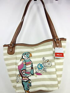 Image is loading RELIC-CAPRI-TOTE-BAG-WOMENS-PARROT-ONE-SIZE- ac922bc82ea3b