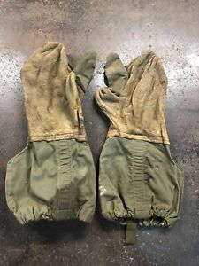 Vintage-World-War-2-ww2-US-Machine-Gunner-Gloves