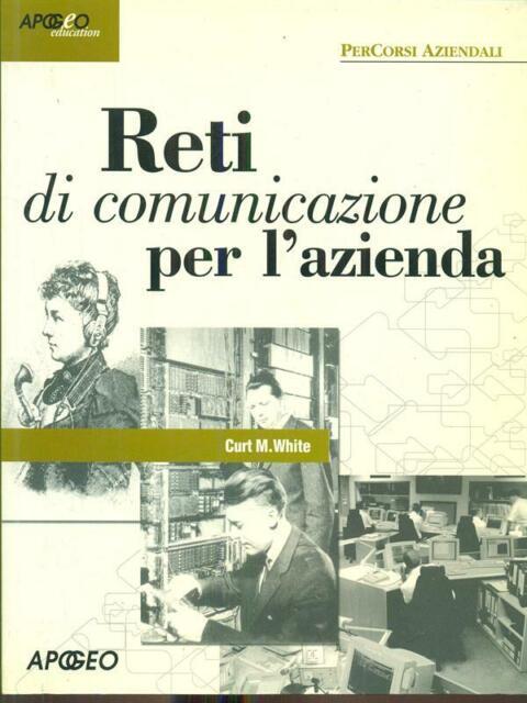 RETI DI COMUNICAZIONE PER L'AZIENDA  CURT M. WHITE APOGEO 2001