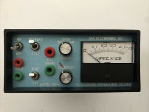 BAK Electronics IMP-1 electrode impedance tester THE ORIGINAL