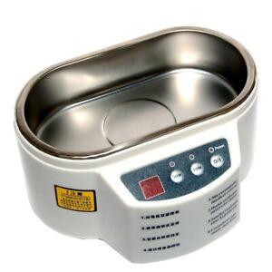 Cubeta limpieza de residuos mediante ultrasonidos Mlink 105-d tanque 0 5 litros