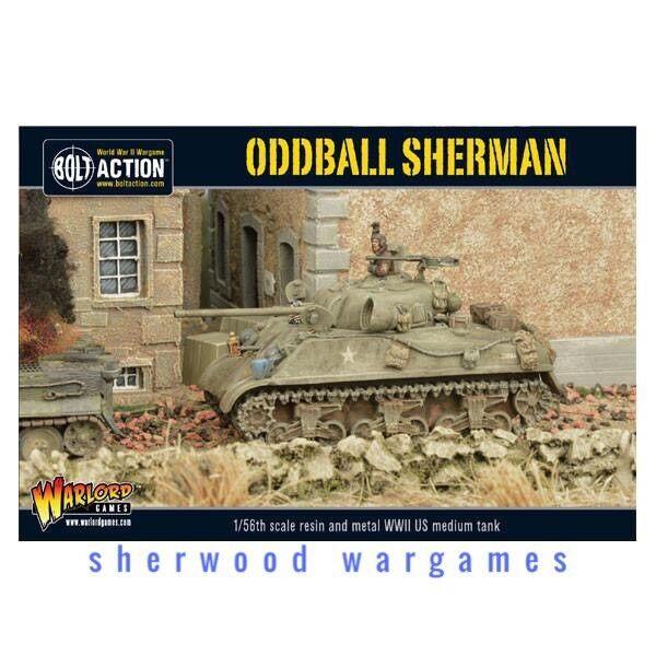 28mm Warlord Games US Oddball Sherman BNIB WWII Bolt Action, Fantastic Model