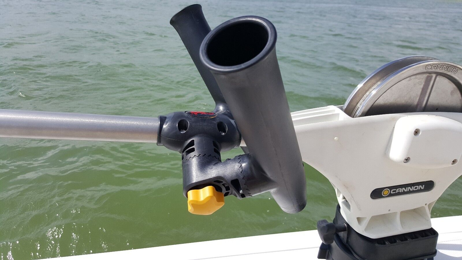 SEAHORSE Adjustable for Dual Rod Holder Assembly Boom Mount for Adjustable CANNON DOWNRIGGERS b9cdd0