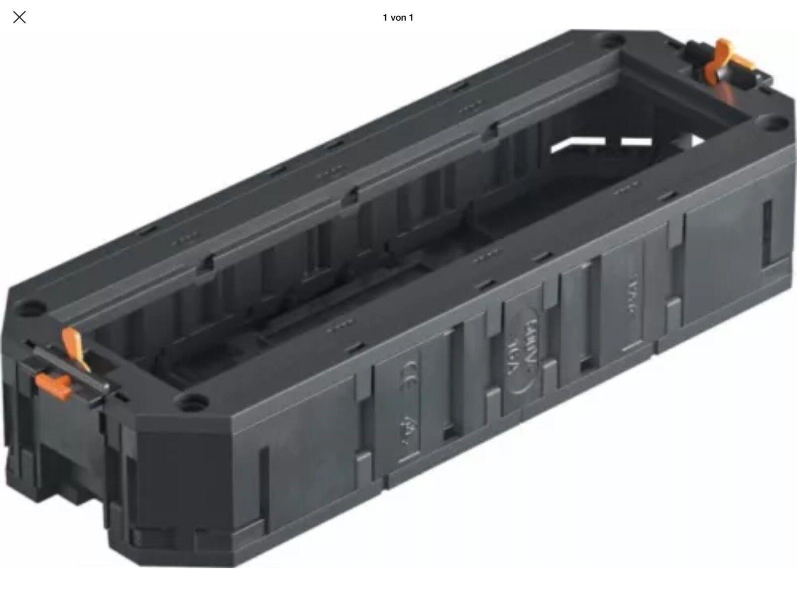10x OBO Bettermann Grünr Grünr Grünr Universalträger für 4 Modul45-Geräte UT4 45 4 | Meistverkaufte weltweit  229010