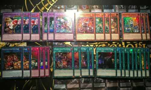 Bow Wow *NEW* Fansies Prank Kids Deck Core 31 Cards Butler YuGiOh Lampsies