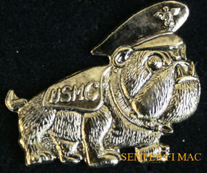 US-MARINE-BULLDOG-AUTHENTIC-MARINES-HAT-PIN-USMC-DEVIL-DOG-SEMPER-FI-DOG-WOW