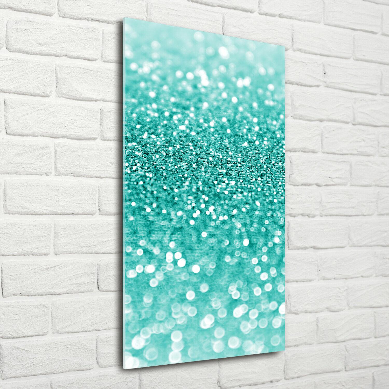 Wand-Bild Kunstdruck aus Acryl-Glas Hochformat 70x140 Lichtspiel