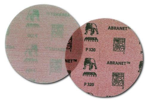 25 MIRKA ABRANET MEULES netzgitter Schleifgitter 225 mm grain 80 Ve