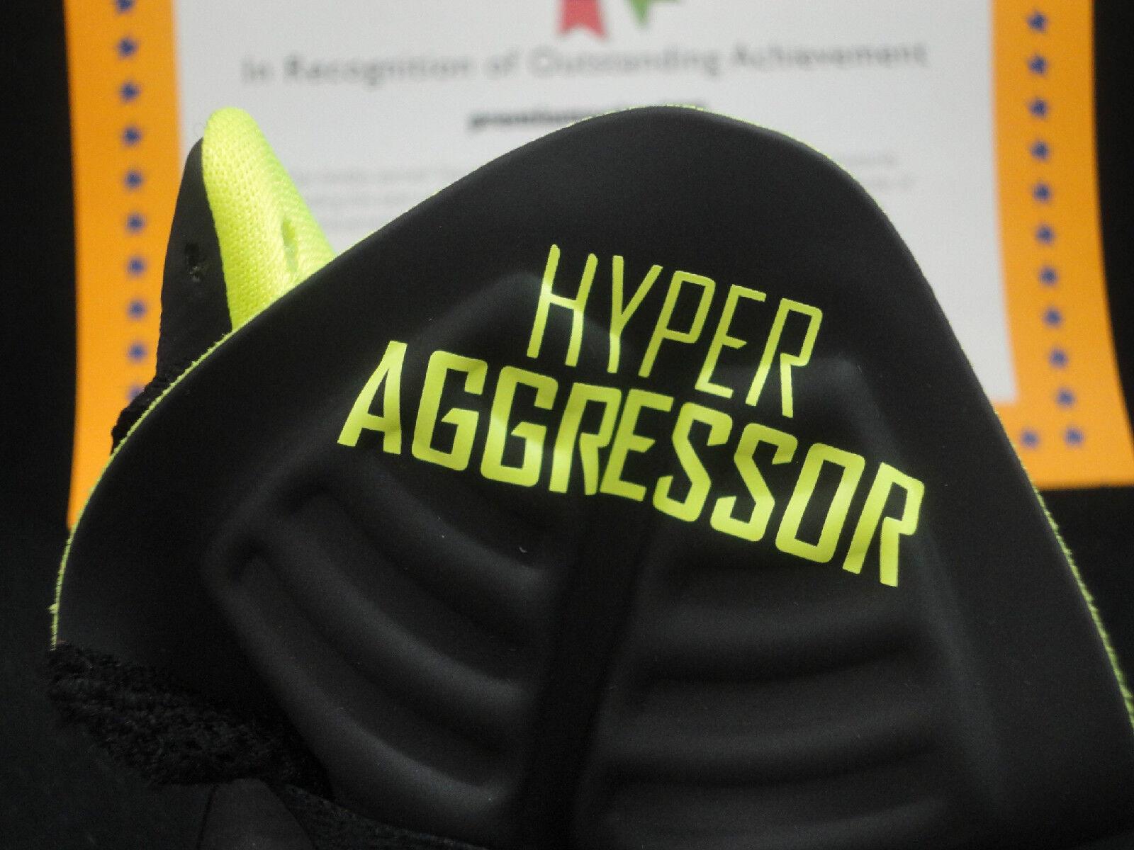 Nike air max hyperaggressor, schwarz / volt, 2012, größe. größe. größe. 271b00