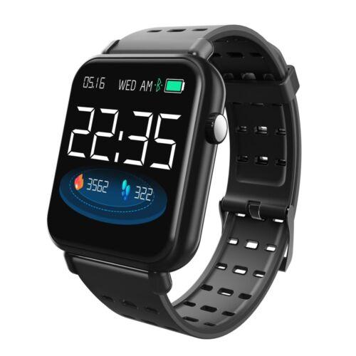 Waterproof Bluetooth Smart Montre Moniteur de fréquence cardiaque Mate pour IOS Android Y6 Pro