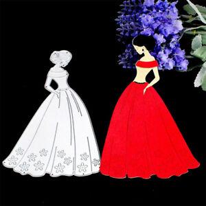 Elegant-Wedding-Theme-Metal-Elegant-Lady-Cutting-Dies-Stencils-For-ScrapbookingD