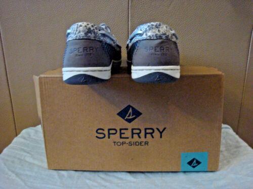 Donna 6 Grigio Sperry Taglia Firefish scatola sider con Python Nuovo Top rwrqTg0