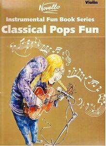 Classical-Pops-Fun-for-VIOLIN-amp-PIANO-NEW-Music-Book