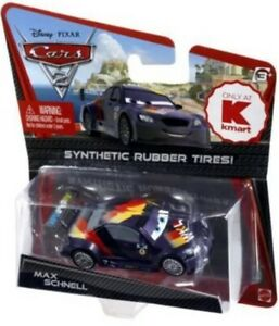 DISNEY-CARS-1-2-3-KMART-DIECAST-1-55-MAX-SCHNELL-RUBBER-TIRES-TYRES-UK