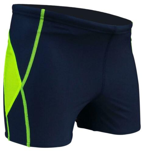 Details about  /ACCLAIM Fitness Cairns Slim Fit Boxer Trunks Navy Mens Tie Cord Lycra Swimming