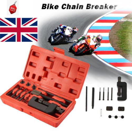 13x Chain Link Breaker Master Chain Cutter Press Riveter Removal Repair Tool Kit