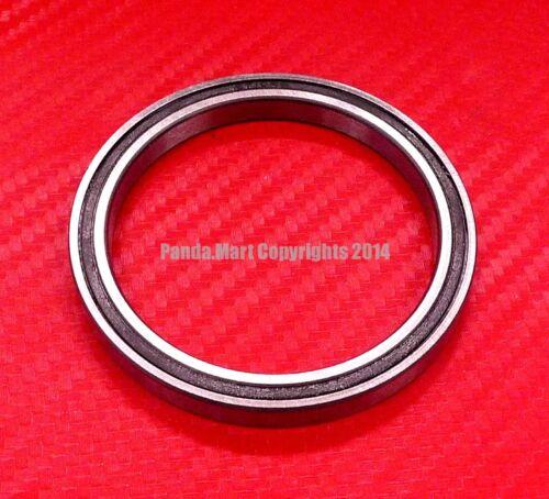 10pcs 6811-2RS 55x72x9 mm Black Rubber Sealed Ball Bearing Bearings 6811RS