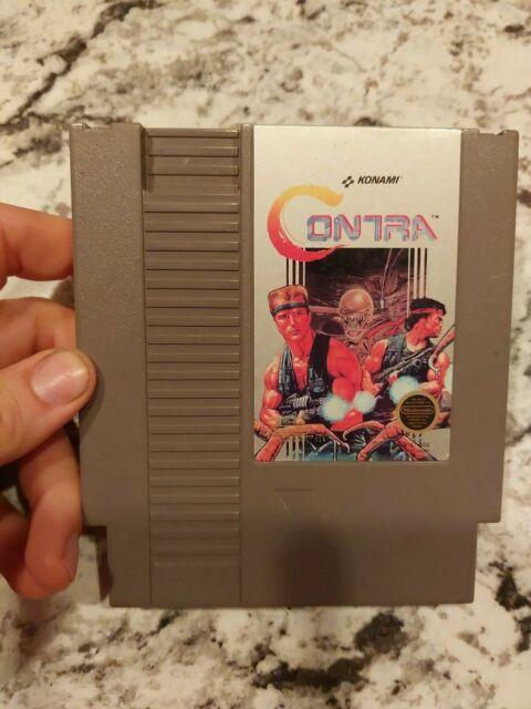 Contra Nintendo Original NES Game Cartridge Cart Only