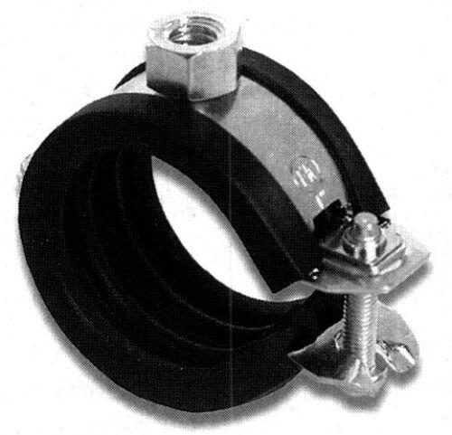 Giunto MORSETTO TUBO 54-58 mm con inserto in gomma tubo morsetto