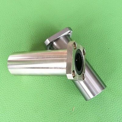 12mm x 21mm x 57mm Square Flange Linear Motion Ball Bearing LMK12LUU