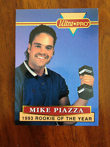 Details About 1994 Mike Piazza Rookie Card 1993 Ultra Pro Baseball Card 5 Of 6