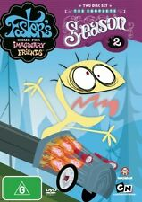 Foster's Home For Imaginary Friends : Season 2 (DVD, 2008, 2-Disc Set)New Reg4