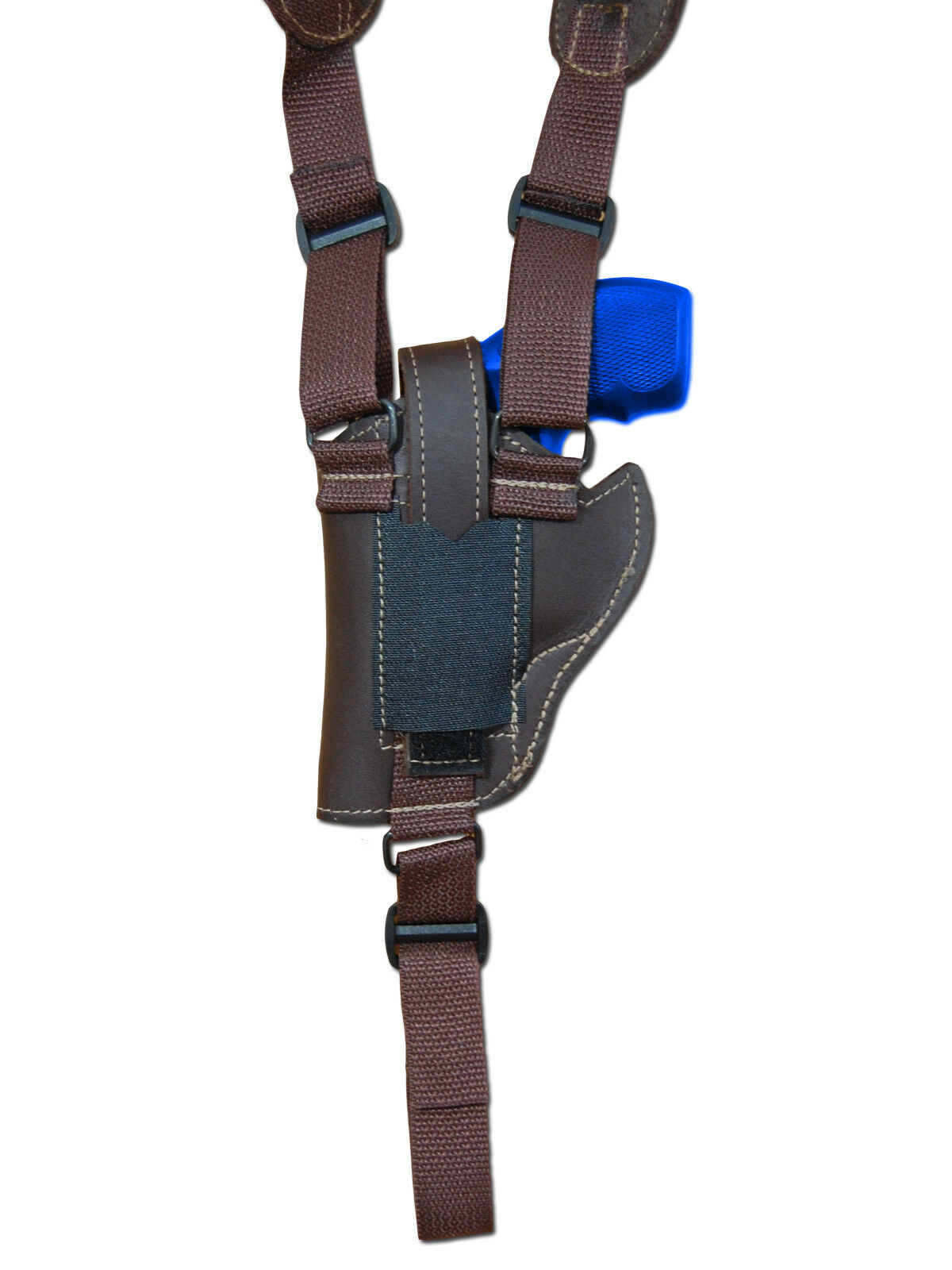 NEW Barsony Braun Leder Vertical Gun Shoulder Shoulder Shoulder Holster for S&W 2