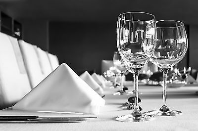 Luxury Plain White Tablecloth - Many Sizes (Restaurant Premium Quality)