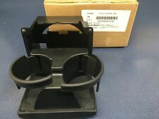 2005-2009 Subaru Outback & Legacy Console Rear Cup Holder Black NEW 66150AG01CJC