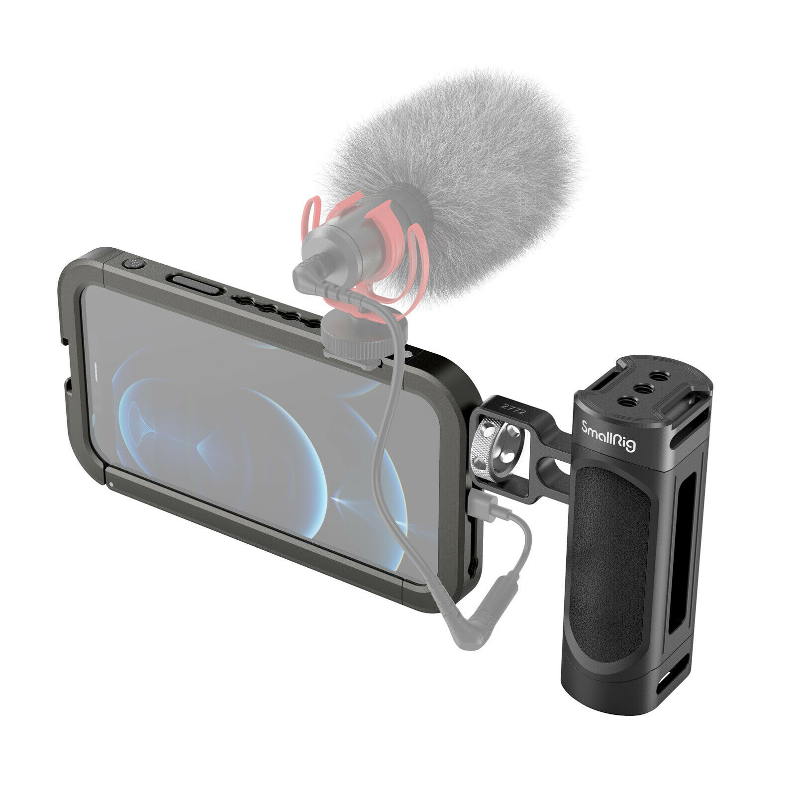 SmallRig Handheld Phone Video Cage Rig Kit for iPhone 12 Pro 3175