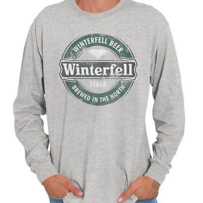Winterfell Beer Brewed In North Westeros Game Of Thrones Long Sleeve Tee