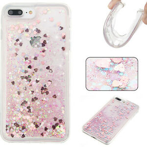 Dynamic Liquid Glitter Quicksand Clear Soft TPU Cover Case For iphone 7 6S plus eBay