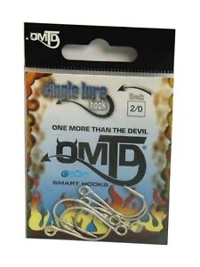 1//0 Ami Single Smart Hooks omtd by MOLIX Strong Single SW-oh2100 Size