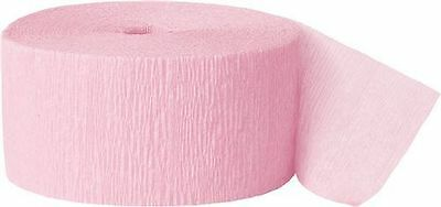 81FT Crepe Paper Streamers Party Decorations Wedding Birthday Rolls