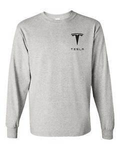 TESLA-MODEL-S-Long-Sleeve-T-SHIRT-Graphic