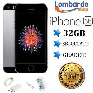 IPHONE-SE-RICONDIZIONATO-32GB-GRADO-B-NERO-GREY-ORIGINALE-APPLE-RIGENERATO