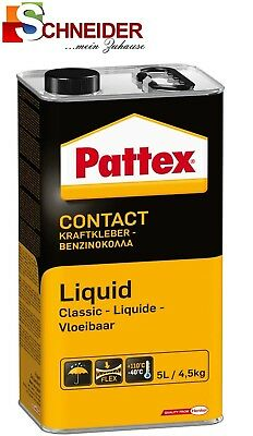 Warnen Pattex Kraftkleber Classic Hochwärmefest 4,5kg Liquid Contact Kleber Pcl7w Heimwerker Kleber