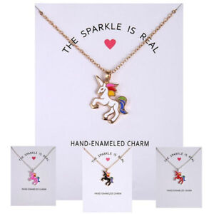 Women-Fashion-Unicorn-Necklace-Pendant-Girl-Sweater-Chain-Charm-Jewelry-Gift