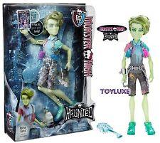 Monster High HAUNTED PORTER GEISS Doll Son of POLTERGEIST Boy Student Spirit NEW
