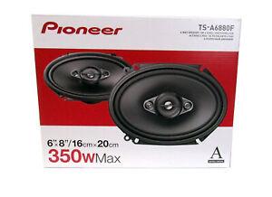Pioneer-TSA6880-350-Watts-Peak-A-Series-6-x-8-034-4-Way-Coaxial-Speakers-Pair