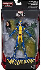 Marvel Legends Deadpool Wave 2 Wolverine Figure With Sauron BAF in Hand