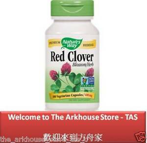 100-C-Red-Clover-Blossom-with-Herb-for-women-s-health-Nature-039-s-Way