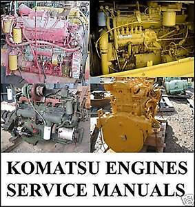 komatsu engines shop service manual 6d102e 2 6d108e 2. Black Bedroom Furniture Sets. Home Design Ideas