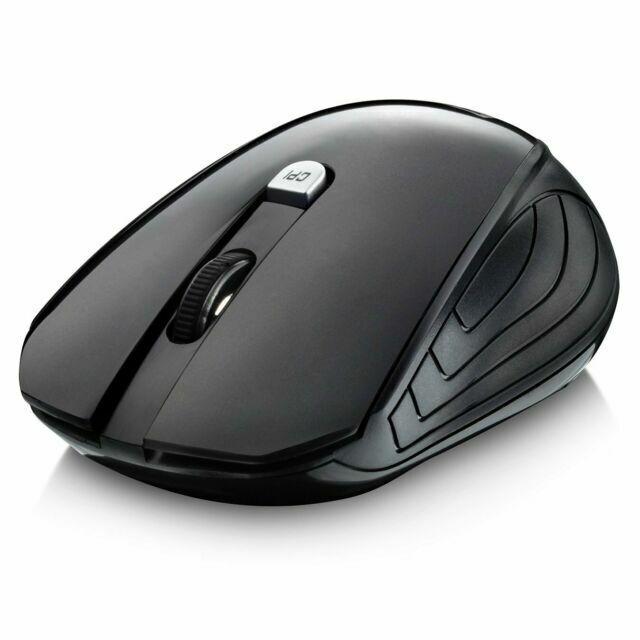 4 buttons Nano USB Receiver 3 Adjustable DPI Wireless mouse Ergonomic