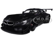 2012 BMW Z4 GT3 STREET VERSION MATT BLACK LTD ED 504PC 1/18 MINICHAMPS 151122304