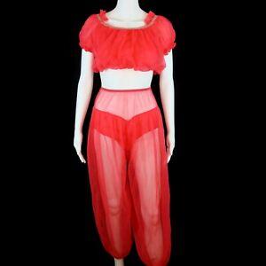 Plus size I dream of Genie harem pants costume