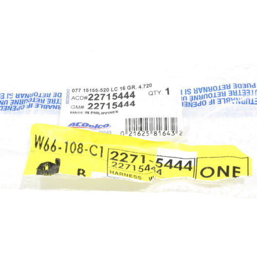 OEM NEW Front Speed ABS Sensor Left Driver 05-06 Chevrolet Equinox 22715444