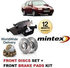 FOR ALFA ROMEO 155 1.8 2.0 TS 1992-1998 FRONT BRAKE DISCS SET+ DISC PADS KIT