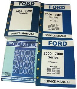 Super Lot Ford 3000 4000 Series Tractor Service Repair Operators Parts Wiring Digital Resources Sapebecompassionincorg